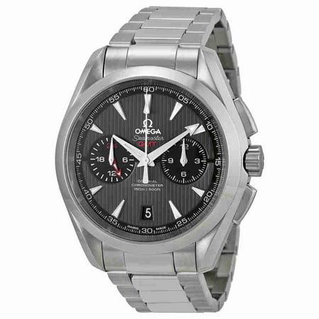 Omega Seamaster Aqua Terra Grey Dial Stainless Steel Mens Watch 23110435206001