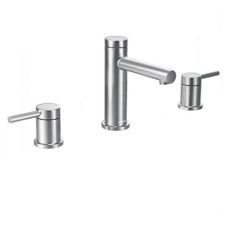 Moen T6193 Align Double Handle Widespread Bathroom Faucet, Available ...