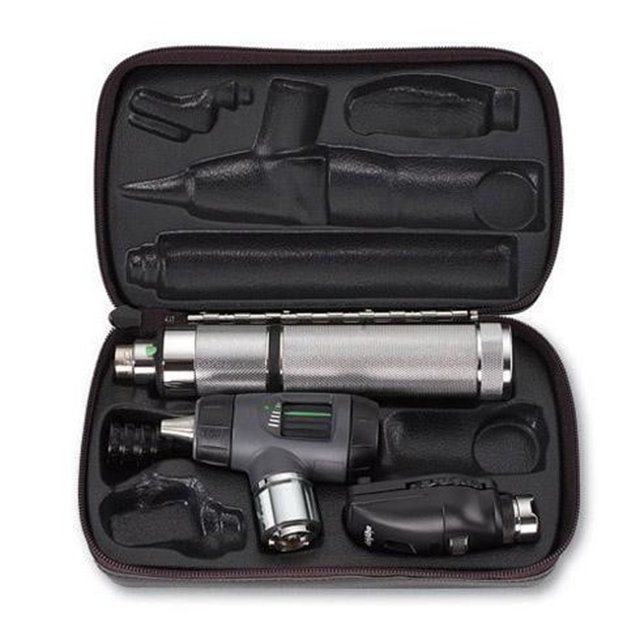 Welch Allyn 97100-M 3.5V Macroview Otoscope Standard Opthalmoscope Set with Hard Case