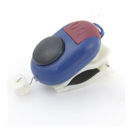 Unique Bargains Blue Plastic Fishing Bite Alert LED Light Indication Fishing Alarm Clip