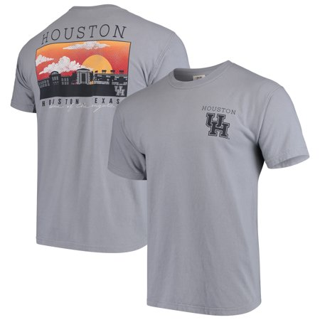 Houston Cougars Comfort Colors Campus Scenery T-Shirt -