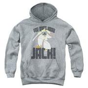 Samurai Jack Don't Know Jack Big Boys Pullover Hoodie