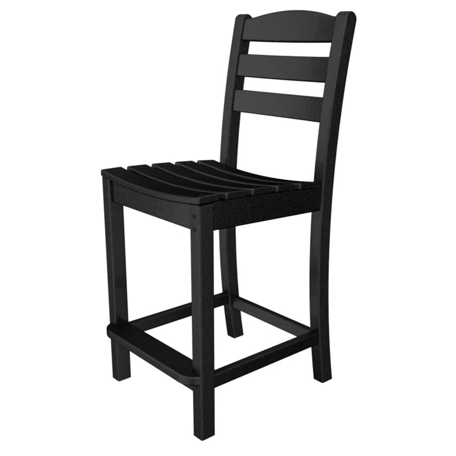 POLYWOOD® La Casa Cafe Recycled Plastic Counter Height Side Chair