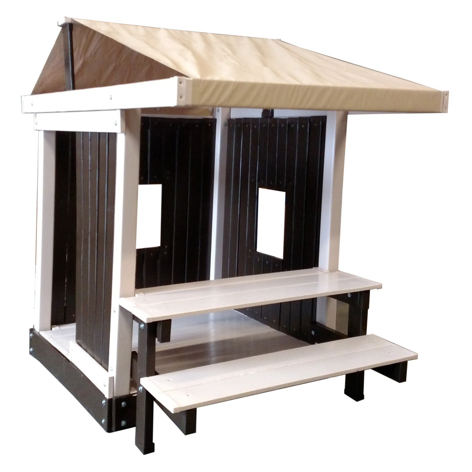 Kidwise Congo Clubhouse with Picnic Table - Brown