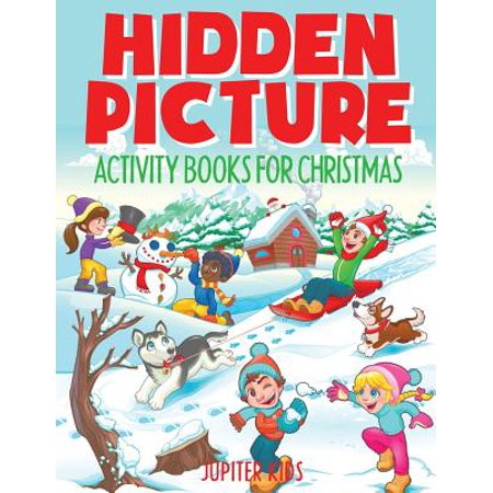 Hidden Picture Activity Books for Christmas