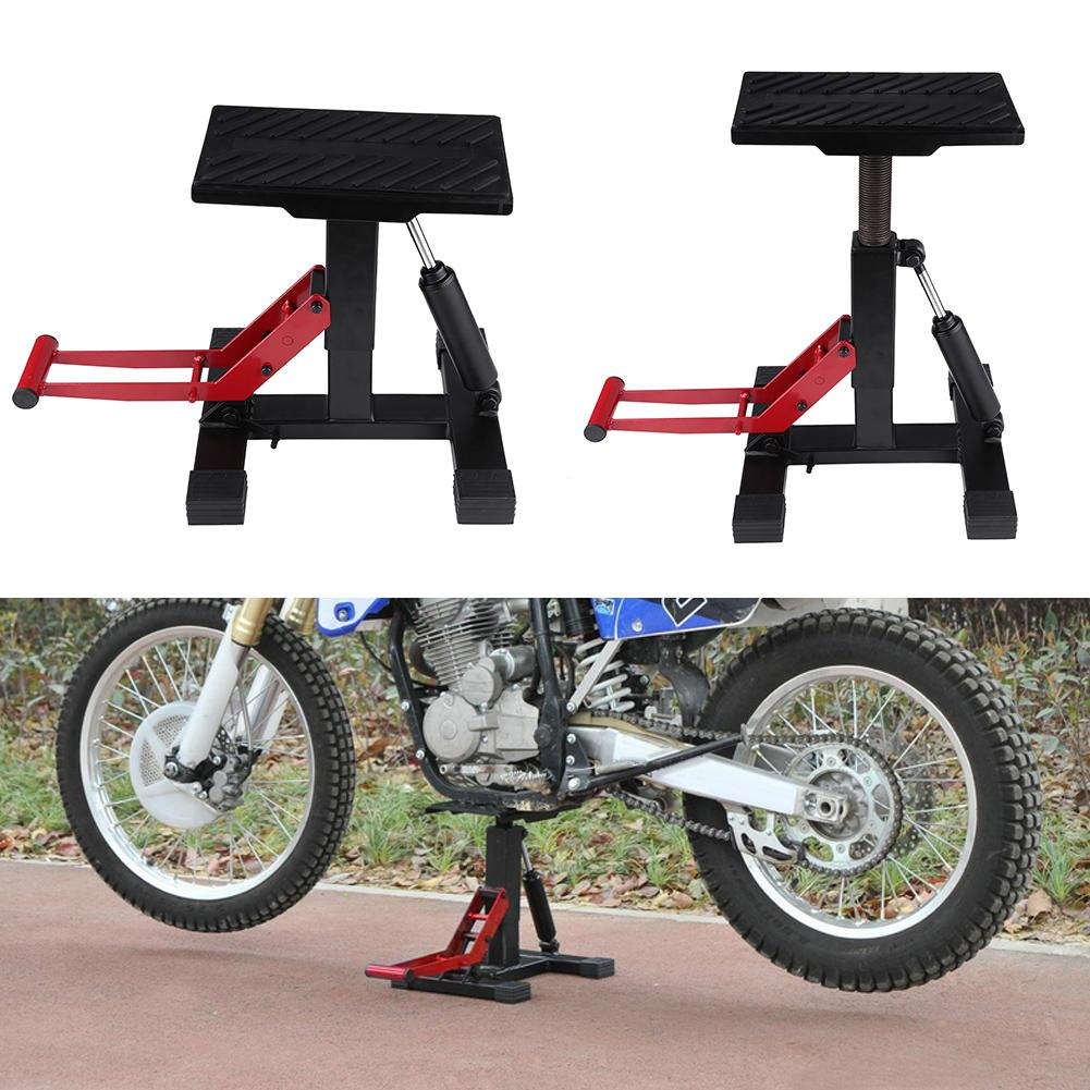 Adjustable Lift Jack Motorcycle Lift Stand Repairing Table for Adventure Touring Motorcycle Street Bike for Adventure Touring Motorcycle Street Bike Cruiser ATVs