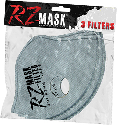 Rz Mask 82828  3x Regular Filters Youth Youthrz Mask