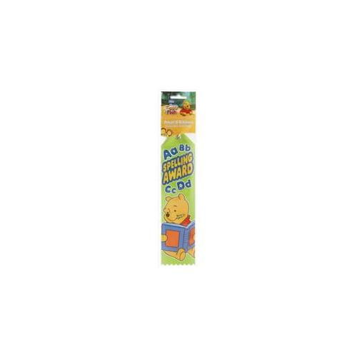 Unique Industries 60010 Pooh Spelling Award Ribbon Pack of 12