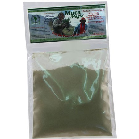 Maca Magic Dietary Supplement Whole Raw Powder - 3.5 Oz