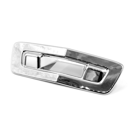 Sizver Chrome Tailgate Cover For 2009-2014 Chevrolet Traverse ^with Camera hole^