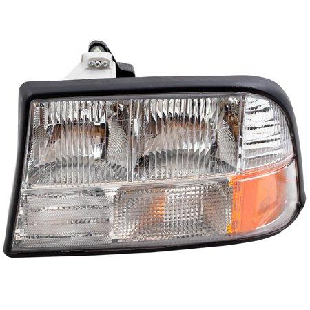 Drivers Headlight Headlamp Replacement for GMC Jimmy Sonoma Pickup Oldsmobile Bravada 16526227