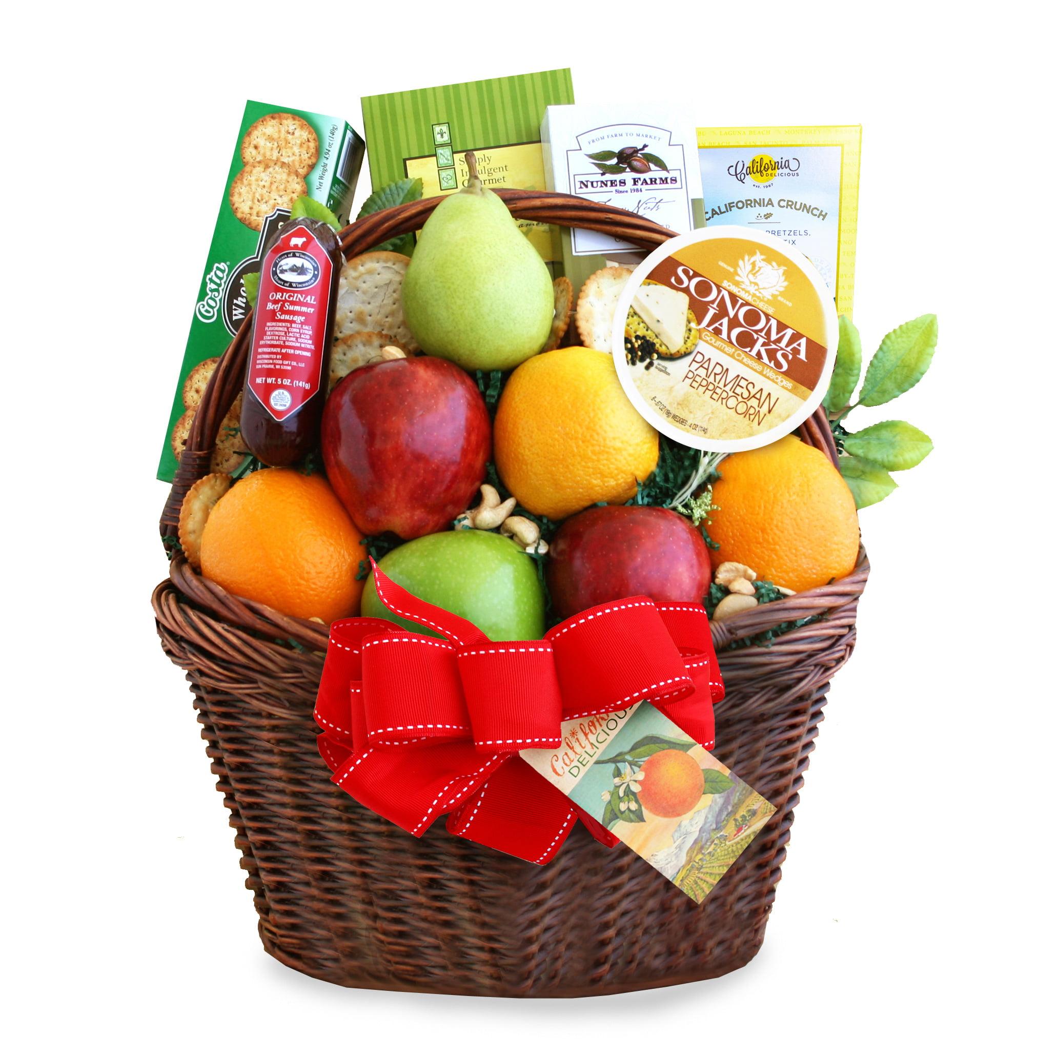 California Delicious Bountiful Fruit Basket Gift