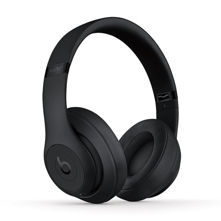 Beats Studio3 Wireless Over-Ear Noise Cancelling Headphones - Matte Black