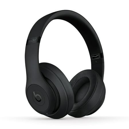 Beats Studio3 Wireless Over-Ear Noise Cancelling Headphones - Matte Black
