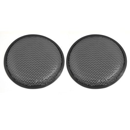 Unique Bargains 10 Inch Universal Car Audio Speaker Subwoofer Grill Cover Guard Protector 2pcs