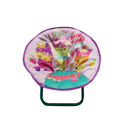 """Num Noms Kids 18"""" Mini Round Collapsible Saucer Chair"""