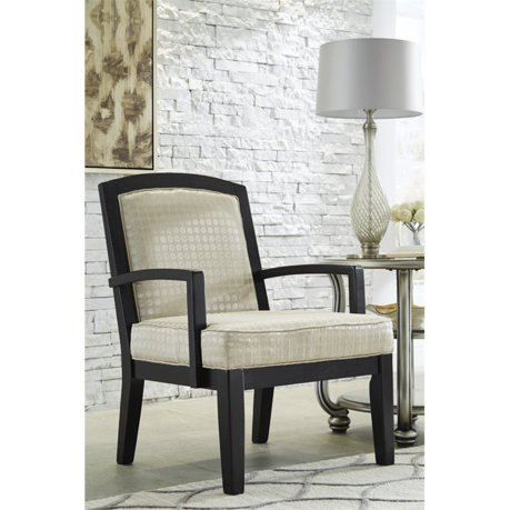 Ashley mauricio accent chair in pearl for Meuble ashley circulaire