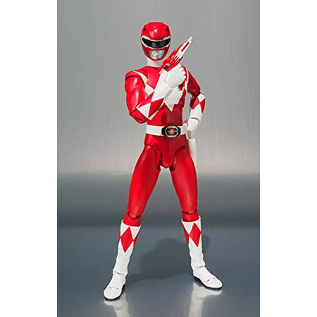 Bandai SH S.H. Figuarts Power Rangers SDCC 2018 Red Ranger Action - Red Ranger Jungle Fury