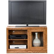 Heritage 42 in. TV Stand (Light Oak)