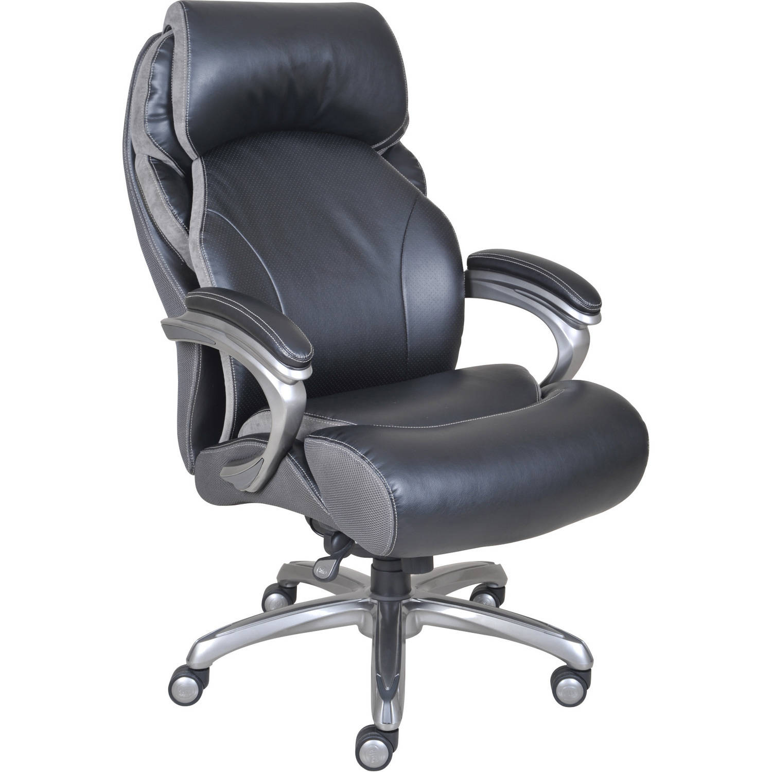 Serta Big and Tall Smart Layers Executive fice Chair with AIR