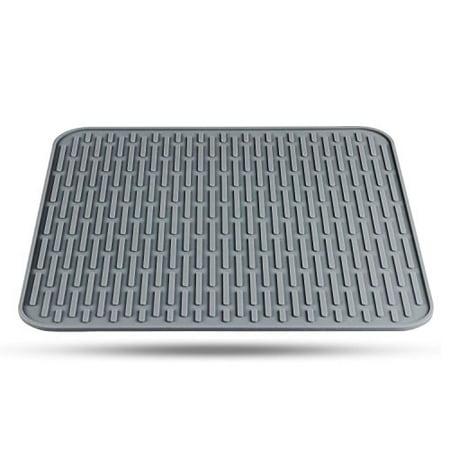Orblue Silicone Dish Drying Mat Walmart Com