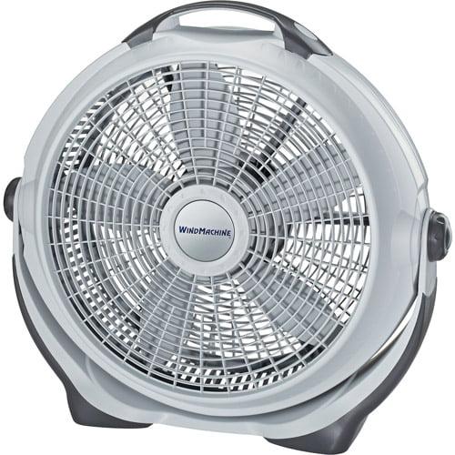 """Lasko 20"""" Wind Machine Air Circulator, Gray  A20301"""