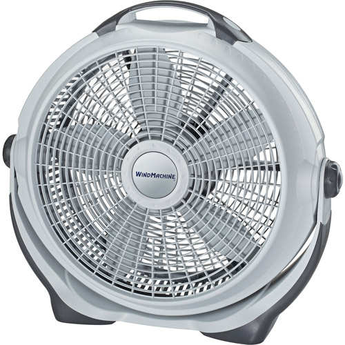 "Lasko 20"" Wind Machine Air Circulator, Gray  A20301"