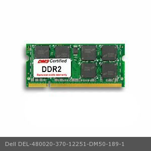 - DMS Compatible/Replacement for Dell 370-12251 Precision Mobile Workstation M90 1GB Samsung Original Memory 200 Pin  DDR2-667 PC2-5300 128x64 CL5 1.8V SODIMM - DMS