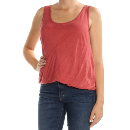 Washed Womens Medium Tank Double Bubble Top M