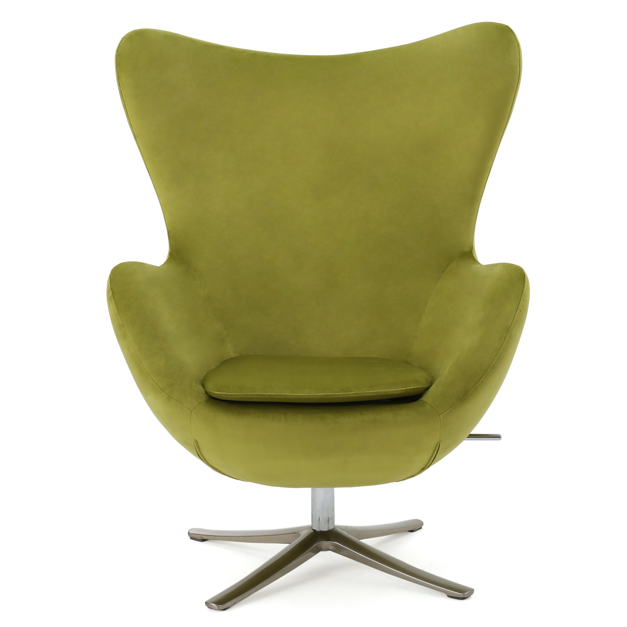 Nessa Modern New Velvet Swivel Chair
