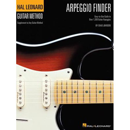 Arpeggio Finder : Easy-To-Use Guide to Over 1,300 Guitar Arpeggios Hal Leonard Guitar Method