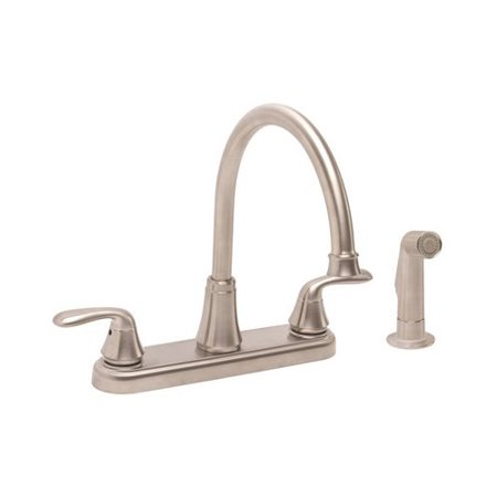 Premier Faucet Waterfront Double Handle Kitchen Faucet With Side Spray