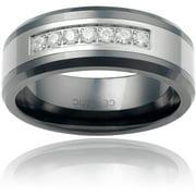 Men's CZ Ceramic Fashion Ring
