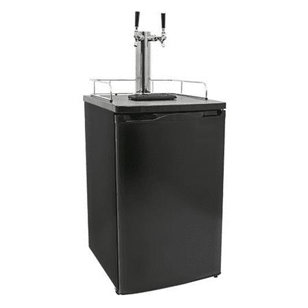 - Arctic King Double-Tap Kegerator Matte Black