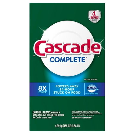 Product of Cascade Complete Powder Dishwasher Detergent, 155 oz. [Biz