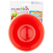 Cups, Dishes & Utensils 5 Pack Multi Plates By Munchkin Moderate Cost