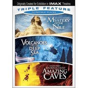 Incredible Places Triple Feature: Volcanoes Of The Deep Sea   Mystery Of The Nile   Journey Into Amazing Caves... by IMAGE ENTERTAINMENT INC