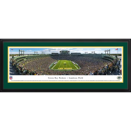 Green Bay Packers End Zone At Lambeau Field Blakeway