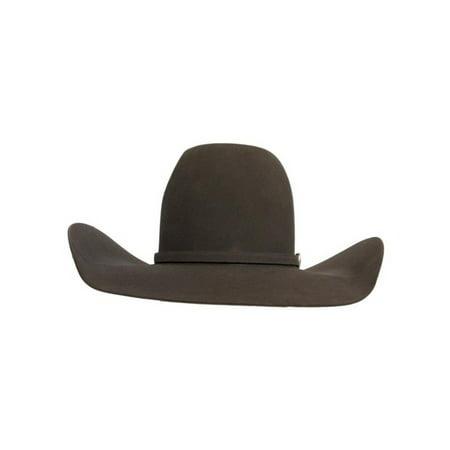 dc01dedd30b63 American Hat - American Cowboy Hat Mens Felt Cool Hand Luke 7X 6-CHL -  Walmart.com