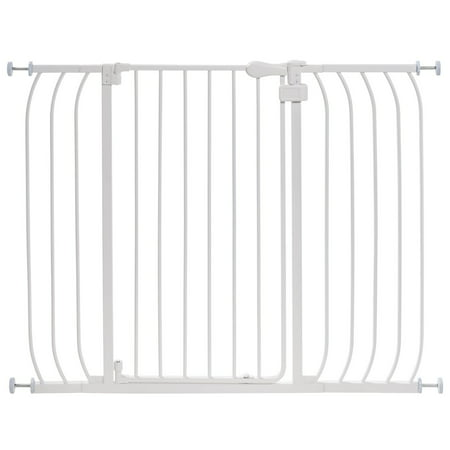 Summer Infant Multi-Use Extra Tall Walk-Thru Gate - (Standard Stainless Steel Gate)