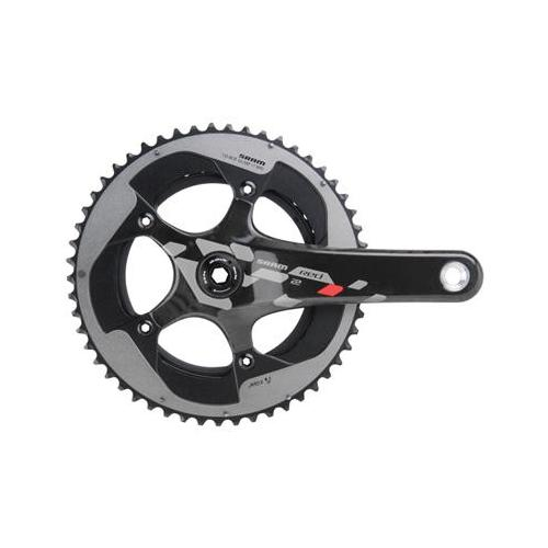 SRAM 2013 Red 22 BB30 Road Bicycle Crankset (Black/Silver - 175 x 53/39)