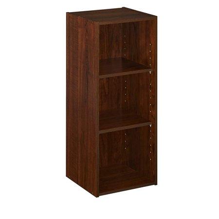 - 1305 Stackable 3-Shelf Organizer, Dark Cherry ClosetMaid