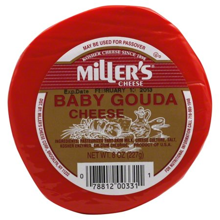 Miller's Baby Gouda Cheese, 8 oz