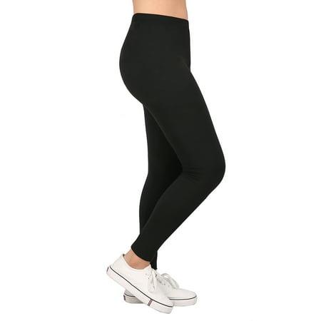 HDE Girl's Ultra Soft Leggings With Print Designs Full Ankle Length Comfy Pants - image 6 de 6