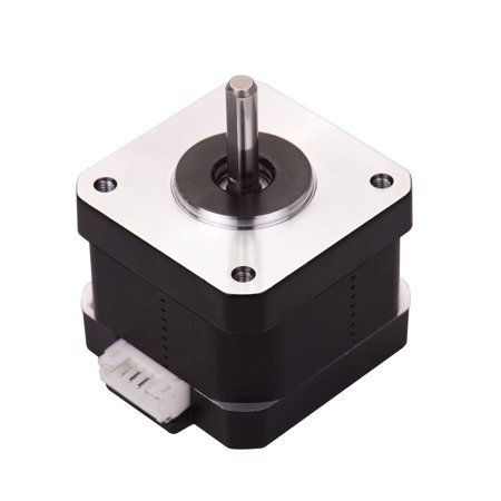 Aibecy 3D Printer Parts 42-34 Stepper Motor 2 Phase 1.8 Degree Step Angle 0.4N.M 0.8A Step Motor for Creality CR-10 CR-10S Ender 3 3D Printer - image 5 de 7