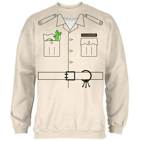 Halloween Zookeeper Costume Mens Sweatshirt](Zoo Keeper Costume Ideas)