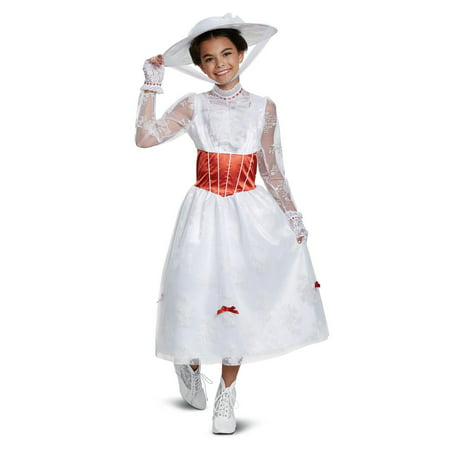 Mary Poppins Deluxe Child Costume - Mary Poppins Custome
