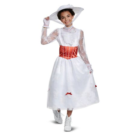 Mary Poppins Deluxe Child Costume](Mary Poppins Costume Kids)