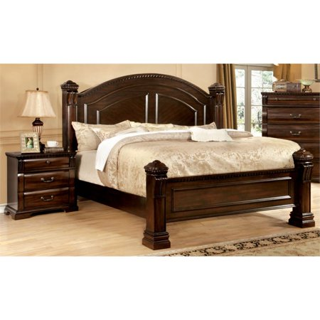 Bedroom Furniture Outlet (Furniture of America Oulette 2 Piece Queen Bedroom Set in Cherry )