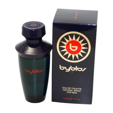 - Byblos Eau De Toilette Spray 3.37 Oz / 100 Ml Limited Re-edition for Men